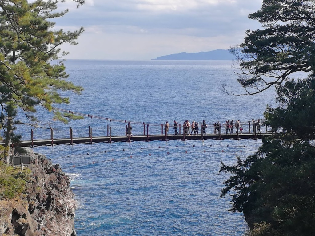 城ヶ崎海岸吊橋