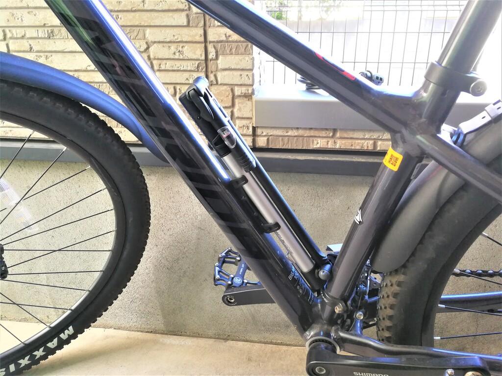 自転車アルミミニフロアポンプGIYO GM-821