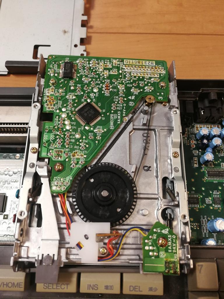 MSX FDD ベルト交換